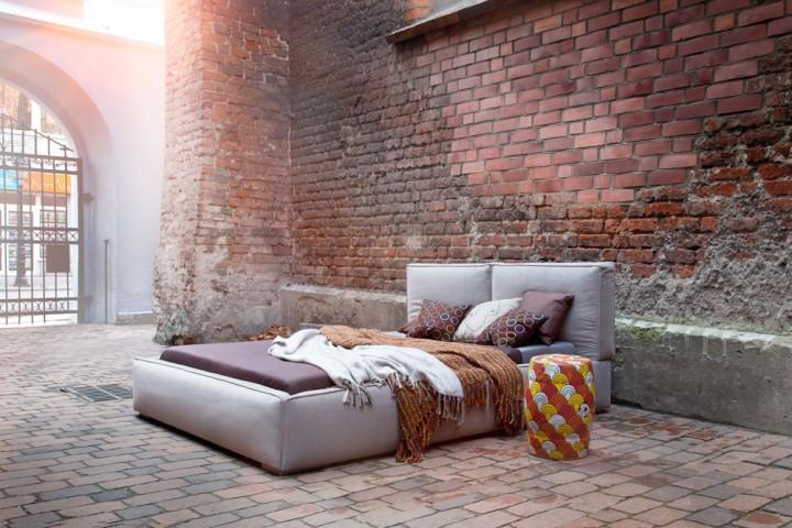 łóżka Tapicerowane Nowoczesne Do Sypialni Dla Pary